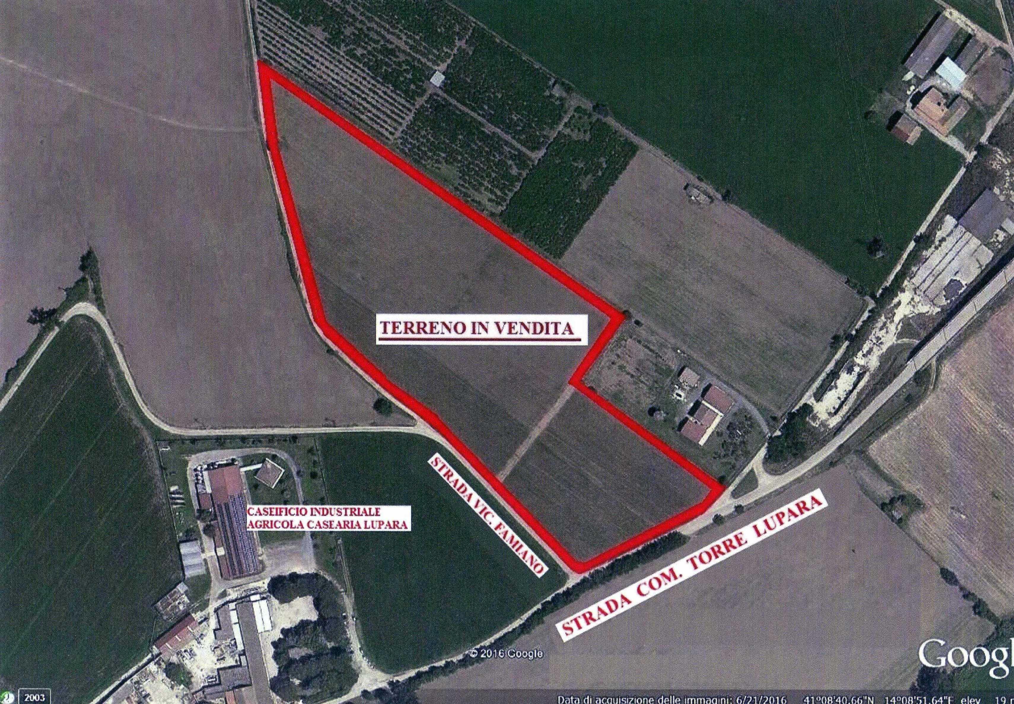 Pastorano zona Torre Lupura terreno industriale di 4 ettari